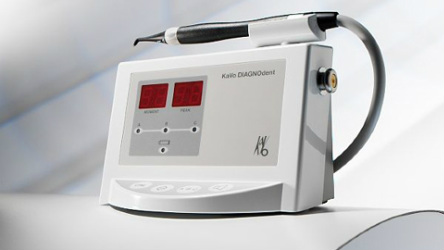 Laser Diagnosis Technology used at Clubb Dental Indooroopilly, Brisbane