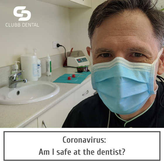Coronavirus: Am I safe at the dentist? from Clubb Dental