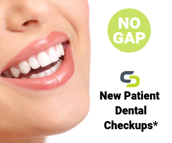 New Patients to Clubb Dental get a No Gap dental checkup