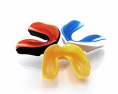 Mouthguards are available in your team colours at a small additional cost at Clubb Dental
